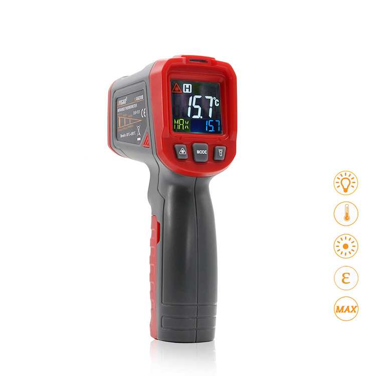 Digital Infrared IR Thermometer Laser Temperature Gun Meter -18~550 Centigrade/0~1022 Fahrenheit Termometro
