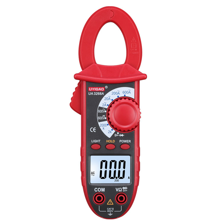 UA3268A pocket universal digital clamp meter, multimeter, ammeter, measure ACA/ACV/DCV,Resistance / Continuity