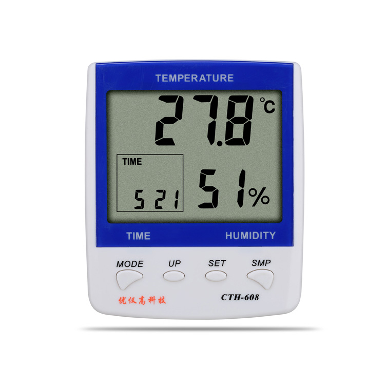 Mini Digital LCD Indoor Thermometer Hygrometer Humidity Temperature Meter thermo hygrometer UA608