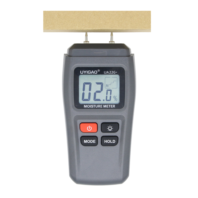 New design sawdust timber lumber log wood hygrometer digital moisture meter ua22g