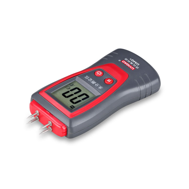 Portable content analyzer digital wood moisture tester