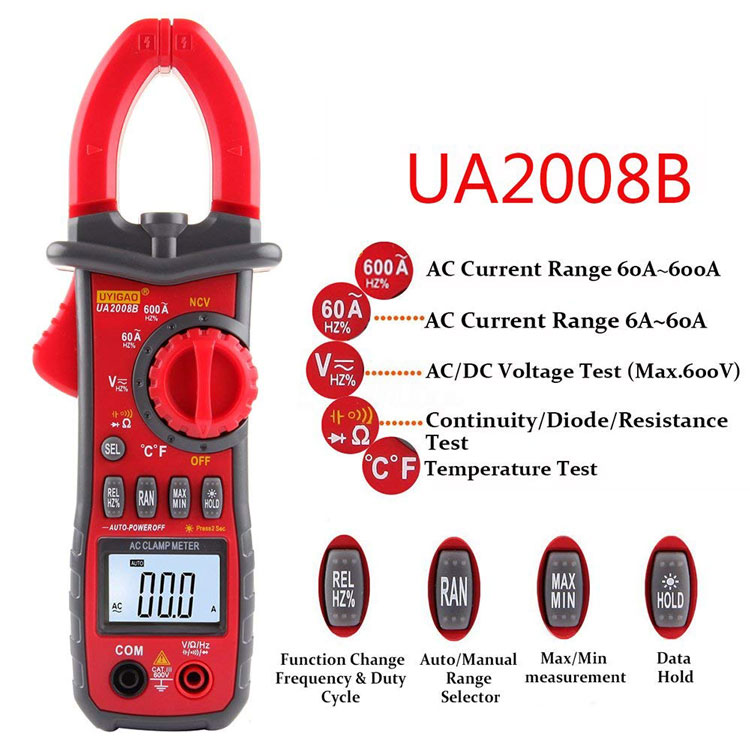 ua2008b digital clamp meter wholesale