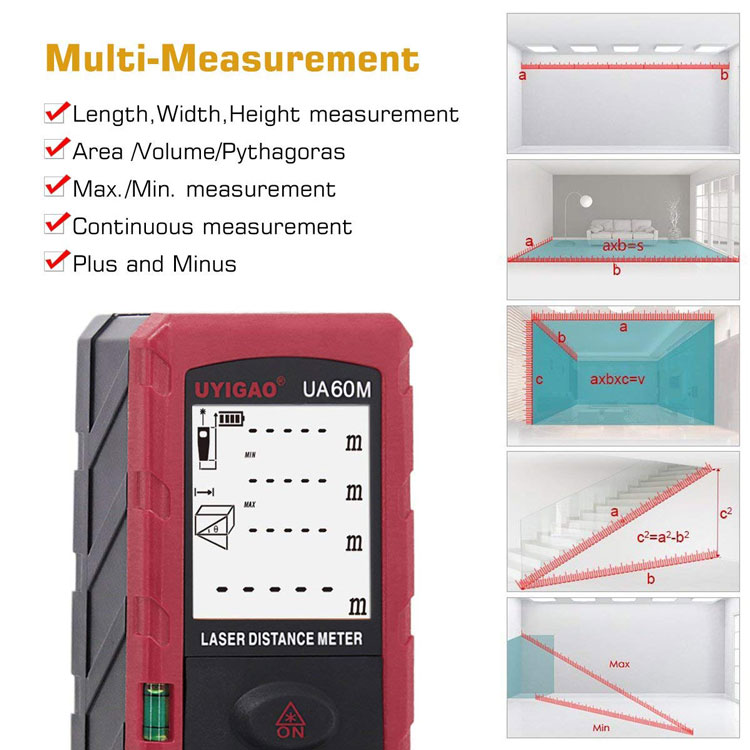 60m laser distance meter wholesale